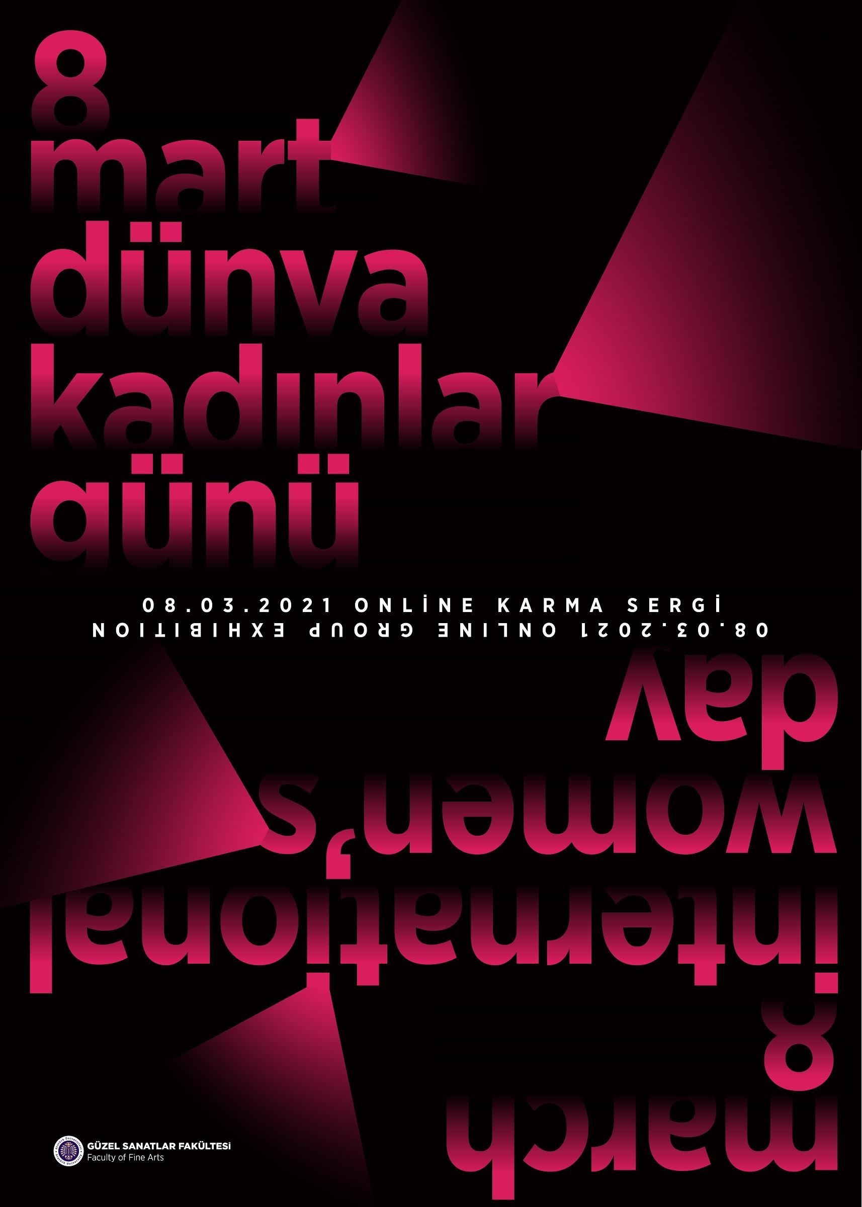 8 Mart Dünya Kadınlar Günü Online Karma Sergi