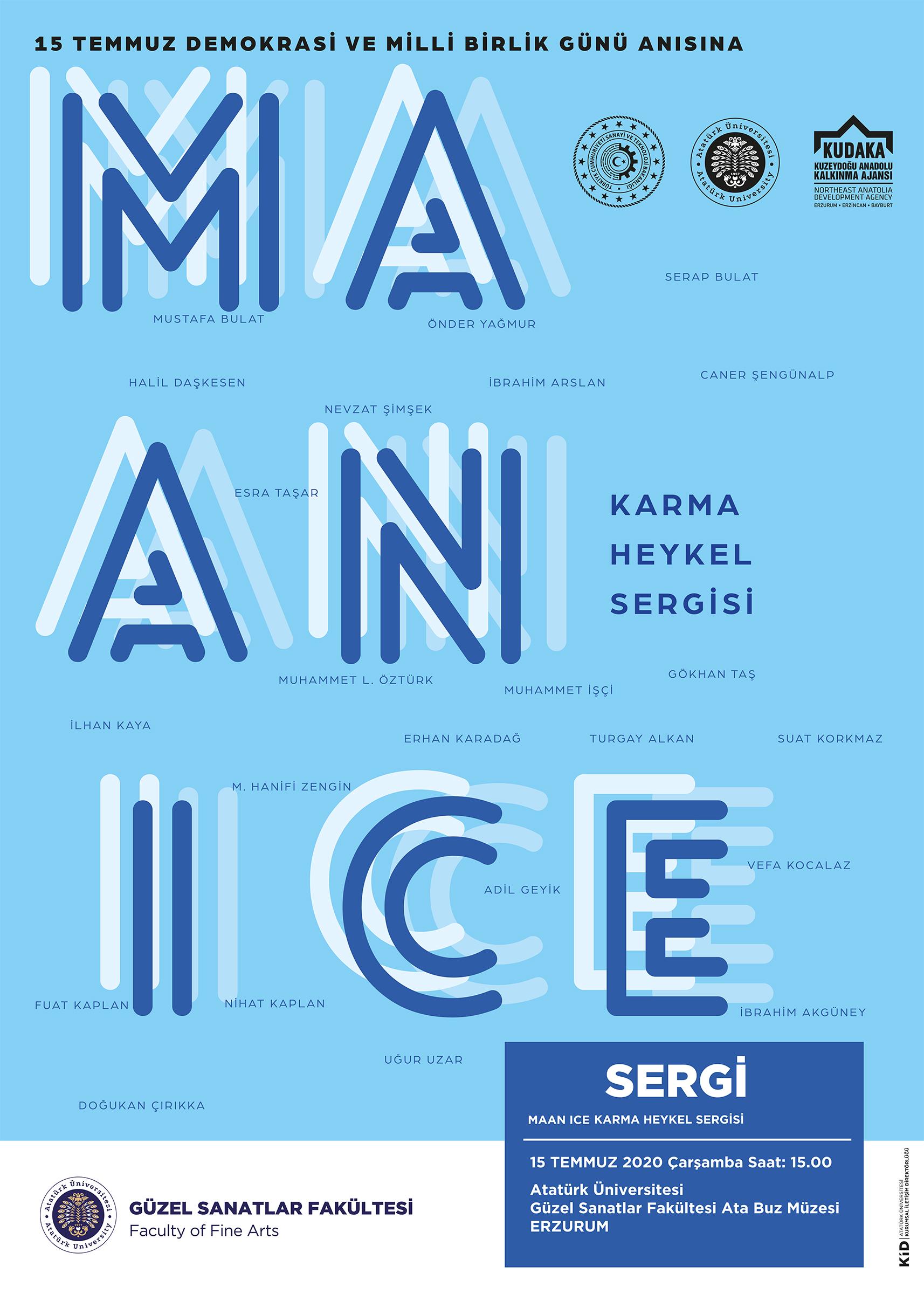 MAAN Ice Karma Heykel Sergisi
